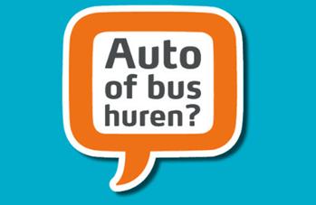 Bus of auto huren dat kan bij andreae in zevenbergen