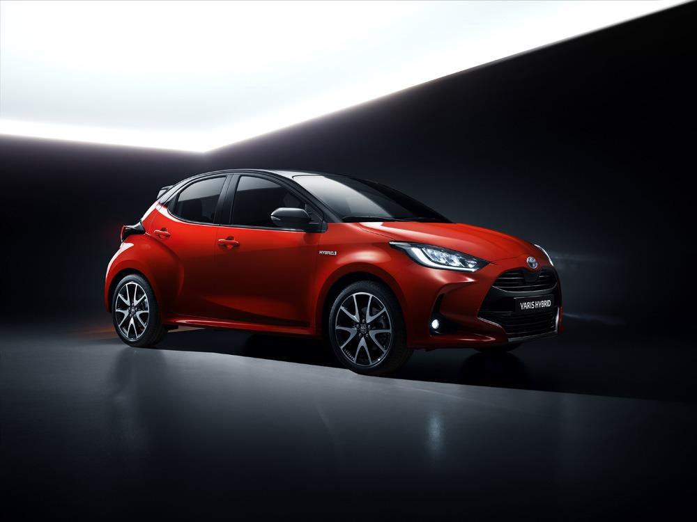 Toyota-nieuwe-Yaris-zijkant
