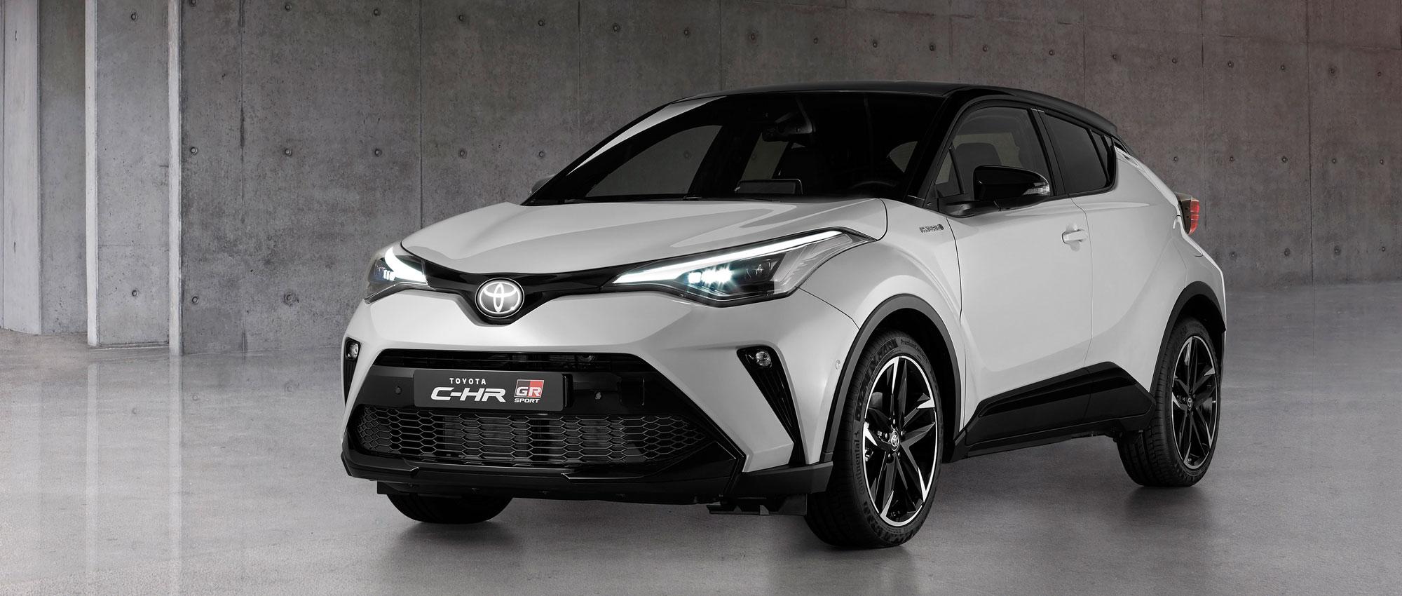 Nieuwe Toyota C-HR GR-Sport met nog scherper weggedrag en exclusieve uitrusting